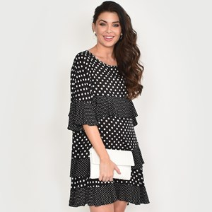 Lozzy Frill Dress Size ML