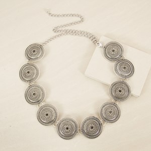 Western Circle Disks Chain Belt
