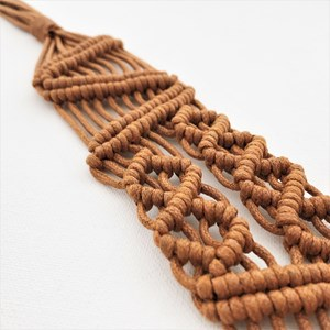Macrame Knotted Belt