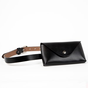 Cece Smooth Vegan Leather Belt Bag