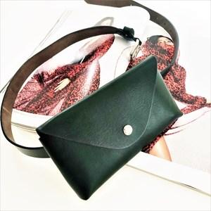 Cece Smooth Vegan Leather Belt Bag