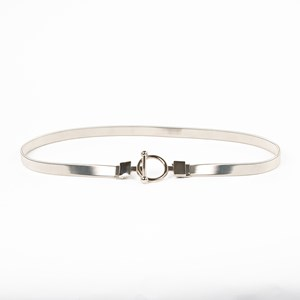 Toggle Slinky Metal Event Waist Belt