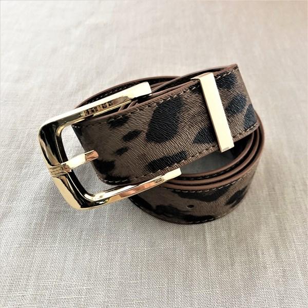 Medium Leopard Print Belt