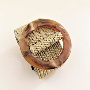 Stretch Weave Resin Ring Belt