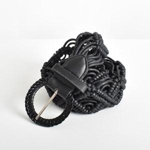 Macrame Rope Weave Buckle Belt