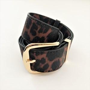 M/L Nadia Leopard Print Belt