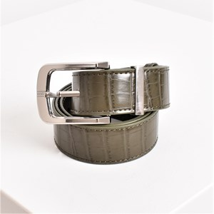 S/M Tash Croc Embossed Belt