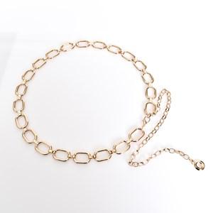 Rectangle Linked Chain Belt