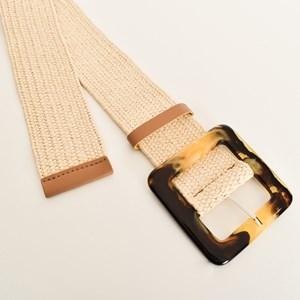 Resin Buckle Stretch Belt