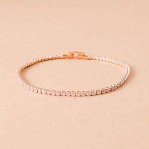 CZ Single Strand Diamante Bracelet