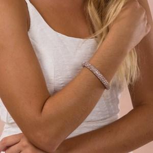 Diamante Cord Magnet Clasp Bracelet