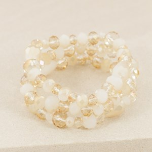 Crystal Mix Knotted 3 Set Bracelet