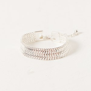 18cm Plus Extension 10mm Wide Chain Cuff