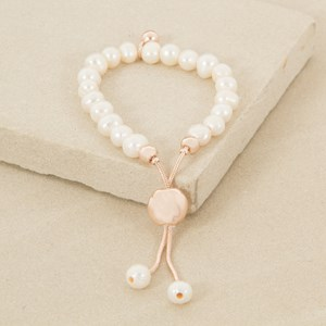 Adjustable Small Freshwater Pearl Bracelet