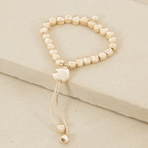 Adjustable Uneven Ball Bracelet