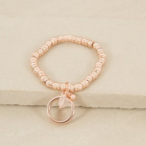 Links and Ring Elastic Bracelet