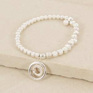 Mixed Balls and Double Ring Elastic Bracelet