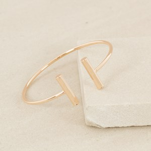 Bar Ends Fine Bangle
