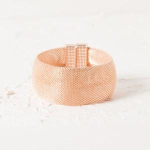 Wide Mesh Magnetic Bracelet
