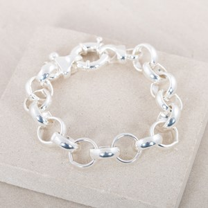 Extra Large Belcher Chain Bracelet