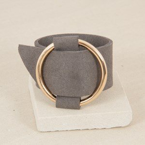 Over Sized Buckle Front Cuff