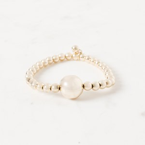 Simple Ball Bead Stretch Bracelet