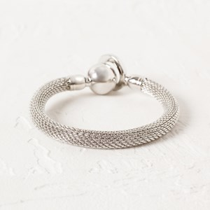 Snake Ball & Ring Cuff