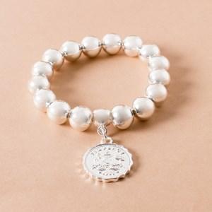 Sixpence Ball Bracelet
