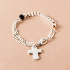Mini Cross Bracelet