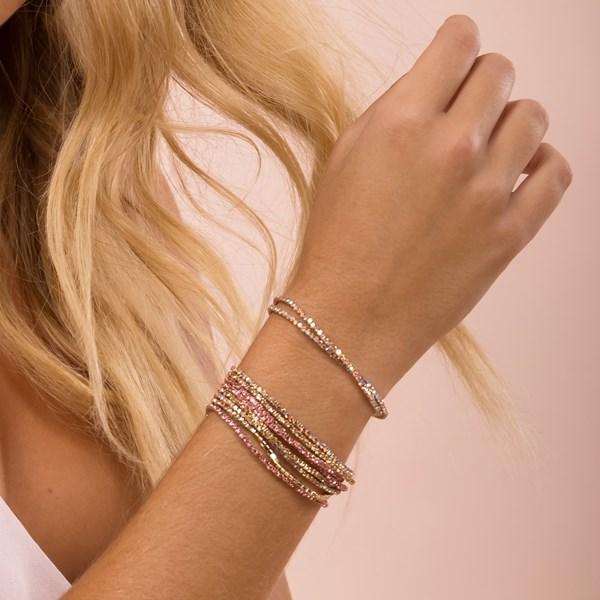 Ten Strand Crystal Stretch Bracelet Set