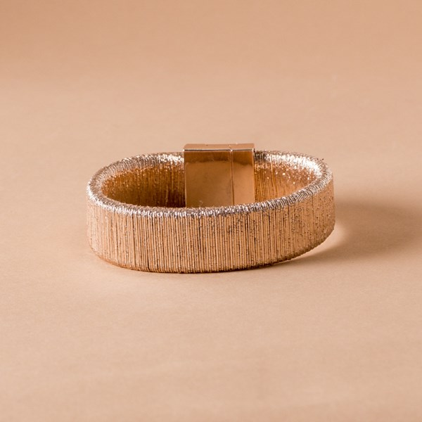 Lined Lurex Magnetic Cuff