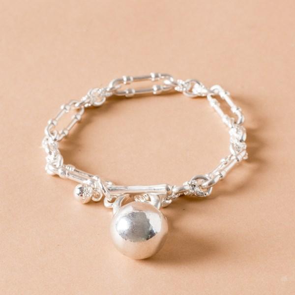 Victorian Chain Ball & Fob Bracelet