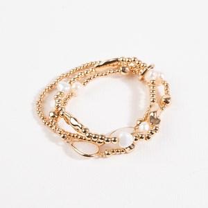 Three Strand Freshwater Pearl Bracelet