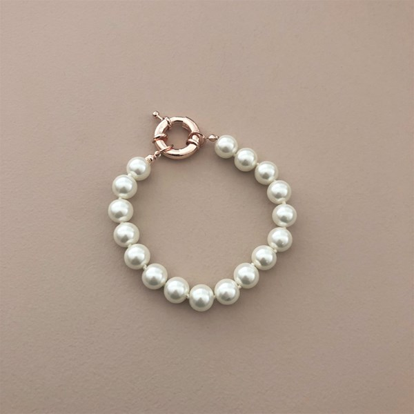 Small Glass Pearl Bracelet