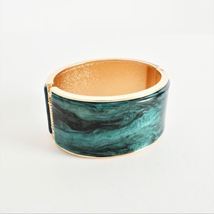 Metal Resin Curved Cuff