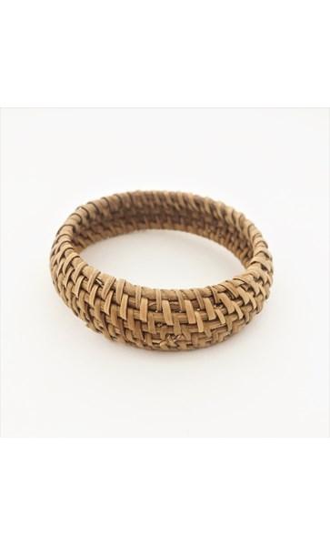 Canggu Weave Rattan Bangle