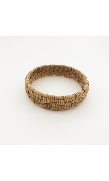 Wategos Uneven Weave Rattan Bangle