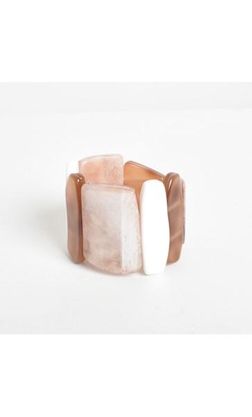 Resin Geometric Shape Cuff