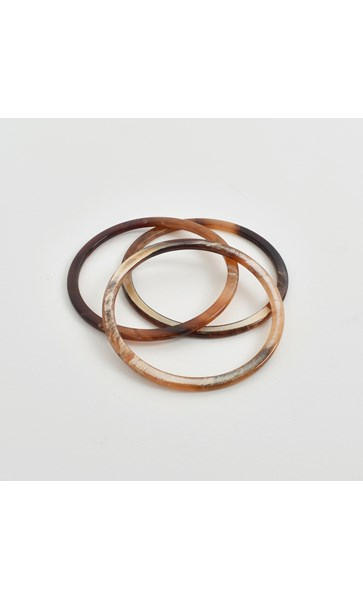 Fine Resin Bracelet Set