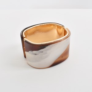 Metal Edge Resin Hinged Cuff