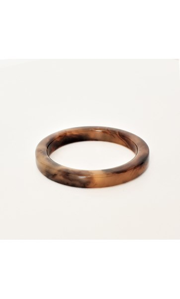 Fifi Simple Round Resin Bangle