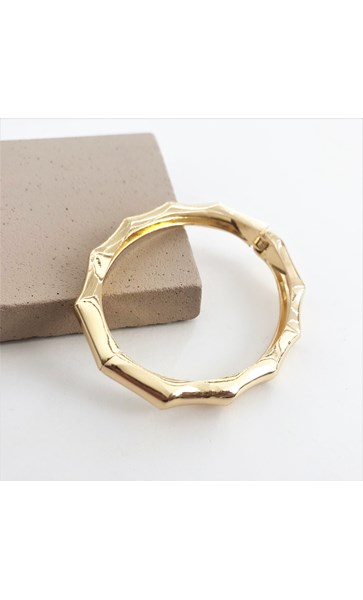 Metal Bamboo Bangle