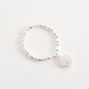 Cut Out Pattern Charm Bracelet