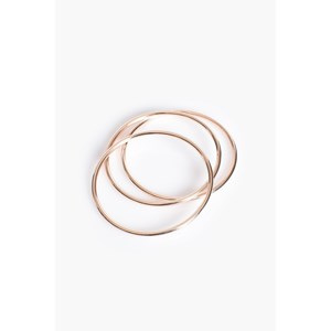 Trio Metal Bangle Set