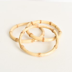 Bamboo Trio Bangle Set