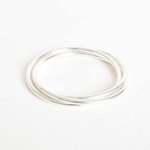 Trio Metal Bangle Set Small