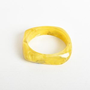 Uneven Resin Bangle