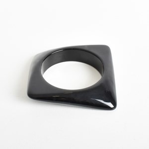 Geo Statement Resin Bangle