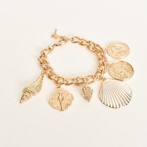 Positano Shell Charms Bracelet