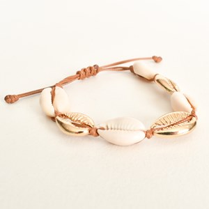 Cowry Shell Mix Adjustable Bracelet